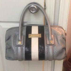 NWOT Rare! L.A.M.B. Bowler bag leather